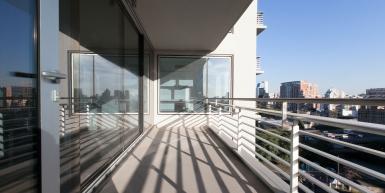 Excelente 3 ambientes en piso 11° con increíble vista a la ciudad.
