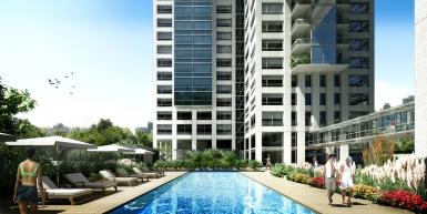 Impresionante 5 ambientes en piso 23° con vista al río y a la ciudad