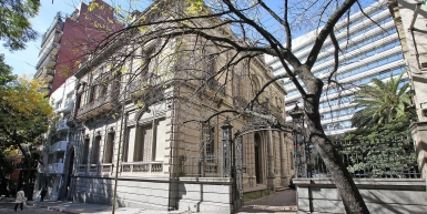 The Estrugamou mansion, historic familiar house in the best area of Buenos Aires