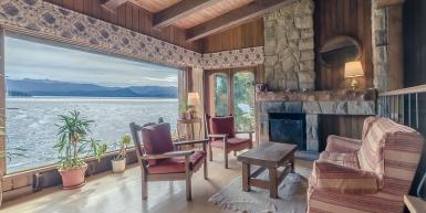 Patagonian Lake house